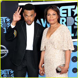 Chance the Rapper Brings His Mom to BET Awards 2017!