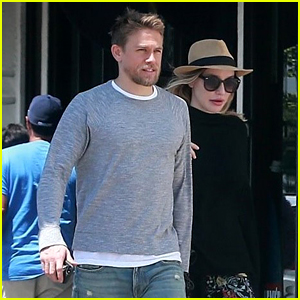 Charlie Hunnam & Girlfriend Morgana McNelis Couple Up for Redondo Beach Lunch Date
