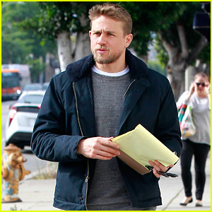 Charlie Hunnam Goes Casual for Mid-Week Lunch Outing