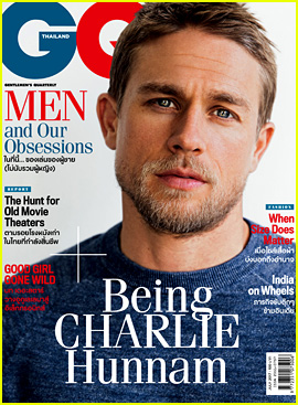 Charlie Hunnam Looks So Dreamy in New 'GQ Thailand' Spread