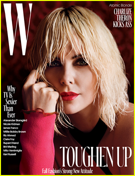 Charlize Theron Tells 'W' Mag It's 'Cathartic to Play a Character Who is Evil'