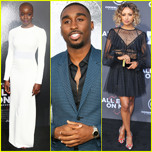 Danai Gurira & Kat Graham Join Demetrius Shipp Jr. At 'All Eyez On Me' Premiere!