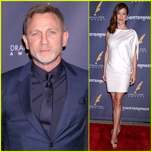 Daniel Craig & Kate Walsh Attend Drama Desk Awards 2017