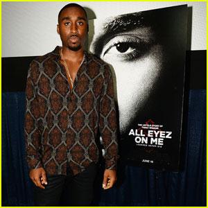 Demetrius Shipp Jr. Brings 'All Eyez on Me' to Miami Beach