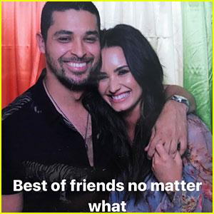 Demi Lovato & Ex Wilmer Valderrama Reunite for Sweet Photo