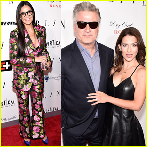 Demi Moore & Alec Baldwin Premiere 'Blind' in NYC