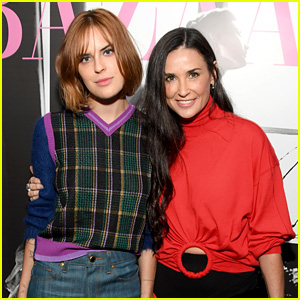 Demi Moore's Daughter Tallulah Joins Her for Friend's Book Party