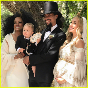 Diana Ross' Son Ross Naess Ties The Knot In Front of Family & Friends