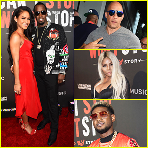 Diddy Gets Major Support At 'Can't Stop, Won't Stop' Premiere!