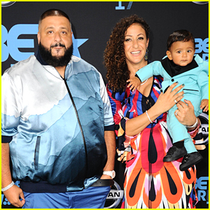 Dj Khlaed Brings Fiancee Nicole Tuck & Son Asahd to BET Awards 2017!