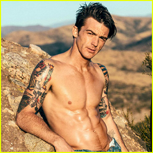 Drake Bell Is Shirtless, Ripped, & Hotter Than Ever for 'Flaunt'