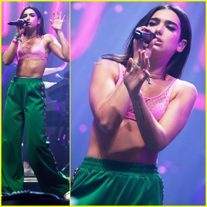 Dua Lipa Has 'Craziest Moment' of Her Life at Glastonbury Festival 2017!