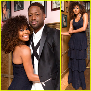 Dwyane Wade Is Loving Wife Gabrielle Union's Big Hair!