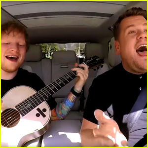 Ed Sheeran's 'Carpool Karaoke' with James Corden - Watch Now!