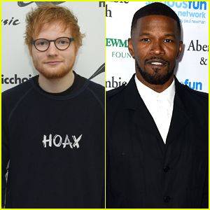 Ed Sheeran Slept on Jamie Foxx's Couch Before He Was Famous