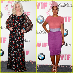 Elizabeth Banks & Tracee Ellis Ross Are Honored for Their Excellence at Crystal & Lucy Awards!