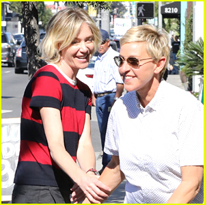Ellen DeGeneres & Portia de Rossi Enjoy a Lunch Date in WeHo