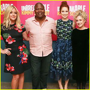 Ellie Kemper & 'Unbreakable Kimmy Schmidt' Cast Celebrate Season Four Renewal!