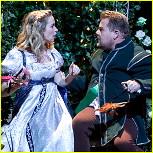 Emily Blunt Performs 'Soundtrack to Romeo & Juliet' with James Corden - Watch Now!