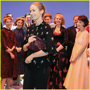 Emily Blunt Takes Break From 'Mary Poppins Returns' To Visit 'An American In Paris'!