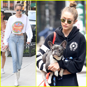Gigi Hadid Takes Zayn Malik's Pup to the Dog Park!