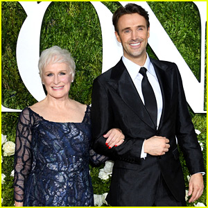 Glenn Close & 'Sunset Boulevard' Co-Star Michael Xavier Have a Night Out at the Tonys!
