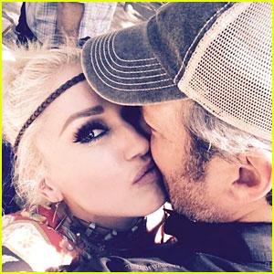 Gwen Stefani Kisses Blake Shelton on 41st Birthday - Photos & Video!