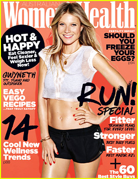 Gwyneth Paltrow Puts Amazing Abs on Display for 'Australian Women's Health'!