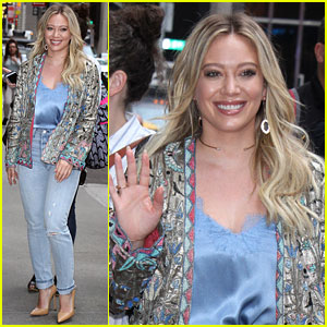 Hilary Duff Recalls the Moment Son Luca Realized She's Famous