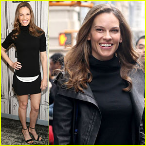 Hilary Swank is All About the Female Empowerment 'Mission'