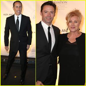Hugh Jackman & Wife Deborra-Lee Furness Have a Night of Laughter