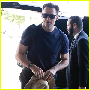 Hugh Jackman Promotes 'The Greatest Showman' in Barcelona