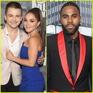 Hunter Hayes & Jason Derulo Dress Up For CMT Awards 2017