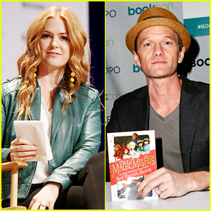 Isla Fisher & Neil Patrick Harris Promote Projects at BookExpo