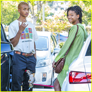 Jaden & Willow Smith Enjoy Some Brother-Sister Bonding Time