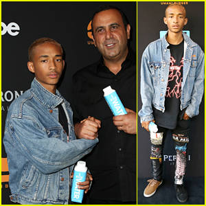 Jaden Smith Gets His Umami Burger On at Remodel Party!