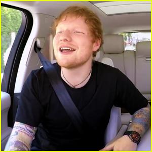 James Corden Teases Ed Sheeran Carpool Karaoke - Watch First Look Here!