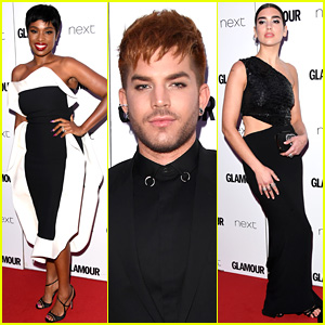 Jennifer Hudson & Dua Lipa Win at Glamour Women of the Year Awards, Adam Lambert Presents!