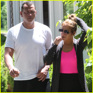 Jennifer Lopez & Alex Rodriguez Head to the Hamptons!