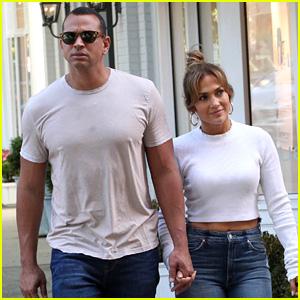 Jennifer Lopez & Alex Rodriguez Hold Hands While Shopping!