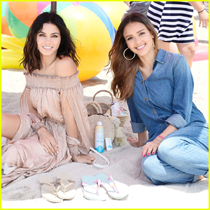 Jessica Alba & Jenna Dewan Support Children in Need With 'Havaianas' Collaboration