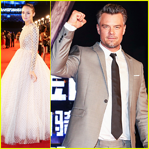 Josh Duhamel & 'Transformers' Cast Celebrate 10 Year Anniversary In China!