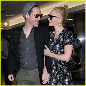 Kate Bosworth & Husband Michael Polish Are Smitten at LAX