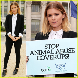 Kate Mara Teams Up With The Humane Society To Advocate For Animal Welfare