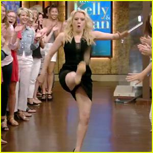 Kate McKinnon Makes Epic Talk Show Entrance, Dances for 35 Seconds - Watch Now!