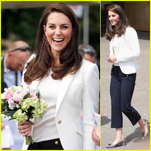 Kate Middleton Helps Inspire Children At 1851 Trust Sailing Workshop!