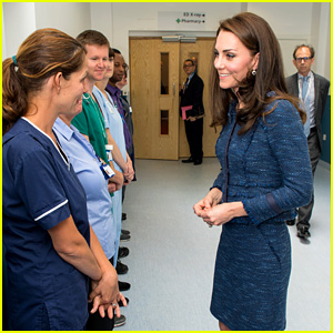 Kate Middleton Visits the Victims of London Bridge Attack