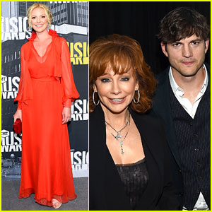 Katherine Heigl & Ashton Kutcher Go Country for CMT Awards!