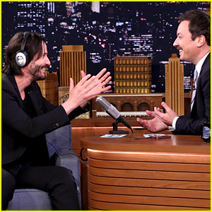 Keanu Reeves Plays the Whisper Challenge with Jimmy Fallon!