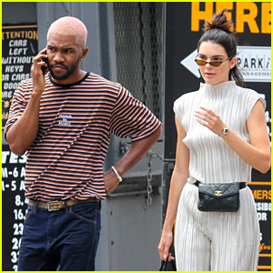 Kendall Jenner & Frank Ocean Grab Ice Cream in New York City